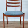 Front view of a Arne Vodder Cado dining chair 191