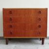 4 drawers teak dresser