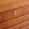 Key of Danish 6 drawer dresser