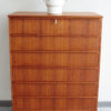 Danish 6 drawer dresser with object