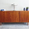 Danish sideboard with objects