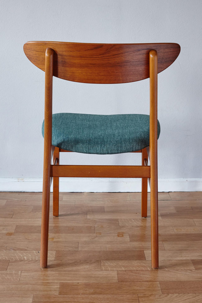 Back of Farstrup dining chair