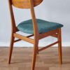 Back of Farstrup dining chair at an angle