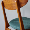 Detail of the back of Farstrup dining chair