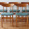 5 Farstrup dining chairs