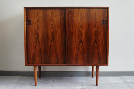 Hjornebo Mobelfabrik rosewood cabinet