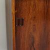 Details of left door of Hjornebo Mobelfabrik rosewood cabinet