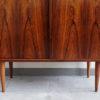Legs of Hjornebo Mobelfabrik rosewood cabinet