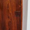 Detail of right door of Hjornebo Mobelfabrik rosewood cabinet