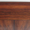 Wood grain of Hjornebo Mobelfabrik rosewood cabinet
