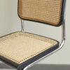 Close up of Italian wicker chair