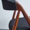 Profile close up of Kai Kristiansen Model 31 Dining Chair