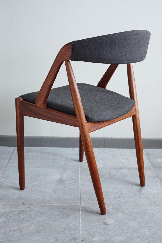 Back of Kai Kristiansen Model 31 Dining Chair