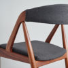 Details of the back of Kai Kristiansen Model 31 Dining Chair