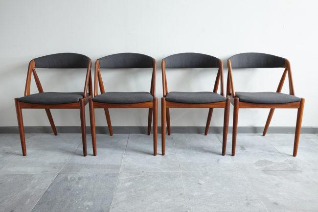 Kai Kristiansen Model 31 Dining Chairs