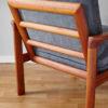 Back of Komfort chair at an angle