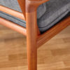 Detail of the back of Komfort chair