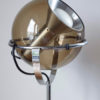 Close up of Globe 2000 floor lamp by Frank Ligtelijn for RAAK in apartment