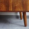 Legs of Danish rosewood low sideboard