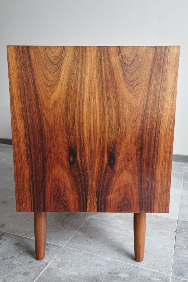 Right side of Danish rosewood low sideboard