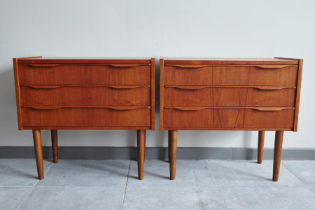 Swedish bedside dressers