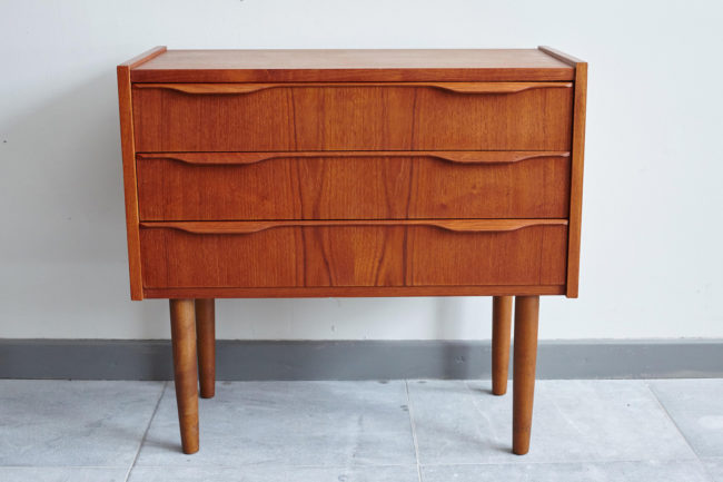 One Swedish bedside dresser