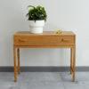 Swedish oak dresser with objects